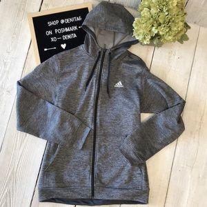 Adidas Men's Climawarm Zip Up Hoodie Jacket Size M